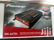 Pioneer GM-A4704 4-channel Car Amplifier-520w Bridgeable | Vehicle Parts & Accessories for sale in Nairobi, Nairobi Central