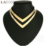 LZHLQ Geometric Hollow Metal Torques Simple Smooth Choker Necklaces | Jewelry for sale in Nairobi, Nairobi Central