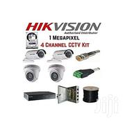 Hikvision 4 Channel CCTV Camera Kit | Cameras, Video Cameras & Accessories for sale in Nyeri, Karatina Town
