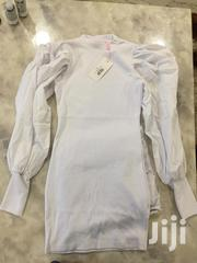 White Dress With Fluffy Arms | Clothing for sale in Nairobi, Kilimani