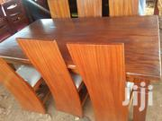 Six Seater Solid Mahogany Dinning Table   Furniture for sale in Nairobi, Karen