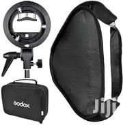 Softbox Foldable Godox 60x60 With S Style Speedlite | Accessories & Supplies for Electronics for sale in Kericho, Kapsoit