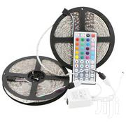 Decorating 5 Metre Set LED Light Strip With Remote And Power Adapter | Stage Lighting & Effects for sale in Nairobi, Nairobi Central