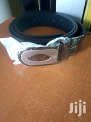 Fashion Men's Eye Leather Belt Black | Clothing Accessories for sale in Nairobi, Nairobi Central