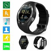 Freight Sport Y1 Smart Watch SIM Wristwatch for iPhone Android Phone | Smart Watches & Trackers for sale in Nairobi, Gatina
