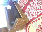 Four Seater Papyrus Leather Seat   Furniture for sale in Bungoma, Khalaba (Kanduyi)
