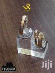Custom Made 18k Yellow Gold And Silver Fusion Couples Wedding Ring | Jewelry for sale in Nairobi, Nairobi Central