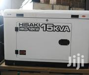 15kva Hisaki Diesel Silent Generator | Electrical Equipment for sale in Nairobi, Embakasi