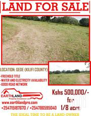 1/8 ACRE LOTS FOR SALE | Land & Plots For Sale for sale in Kilifi, Tezo
