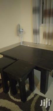 Coffee Table With Two Side Stools | Furniture for sale in Mombasa, Bamburi