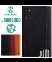Samsung Note 10/Note 10 Plus Nilkin Qin Luxury Leather Flip Cover | Accessories for Mobile Phones & Tablets for sale in Nairobi, Nairobi Central