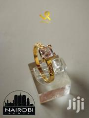 Ladies Custom Hand Crafted Yellow Gold Engagement Ring | Jewelry for sale in Nairobi, Nairobi Central