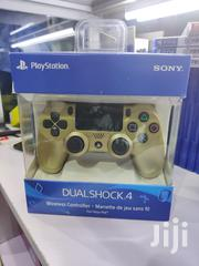 Dualshock 4 Wireless Controller-gold | Video Game Consoles for sale in Nairobi, Nairobi Central