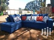 L Shaped 5 Seater Blue in Color | Furniture for sale in Uasin Gishu, Kiplombe