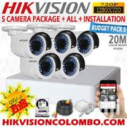 Five Hikvision CCTV Cameras Security Surveillance System | Security & Surveillance for sale in Nairobi, Nairobi Central