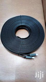 Hdmi 20m Flat Black Cable | TV & DVD Equipment for sale in Nairobi, Nairobi Central