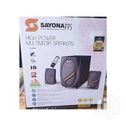 Sayona SHT-1258BT  2.1 CH Subwoofer 6000W | Audio & Music Equipment for sale in Nyeri, Karatina Town