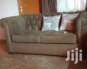 Chesterfield 2 Seater,Brown In Color,Hardwood   Furniture for sale in Nairobi, Mihango
