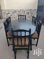 Oval Shaped Dinning Set | Furniture for sale in Mombasa, Ziwa La Ng'Ombe