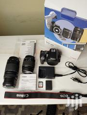 Canon EOS 200D Digital SLR Camera With 18-55mm 75-300mm Lenses, | Photo & Video Cameras for sale in Nairobi, Westlands