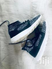 Next UK Monochrome Knit Look High Top Trainers | Shoes for sale in Nairobi, Karen