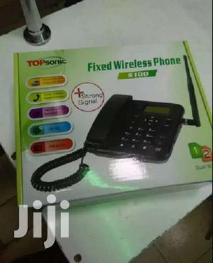 Topsonic S100 Fixed Wireless Landline GSM Deskphone
