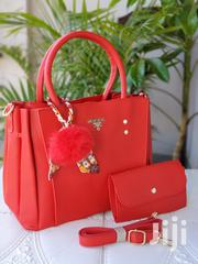 2 in 1 Prada Red Handbag | Bags for sale in Nairobi, Nairobi Central