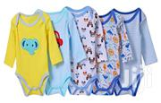 Carter's 5 Pack Boys Cotton Rompers / Bodysuits | Children's Clothing for sale in Nairobi, Nairobi Central