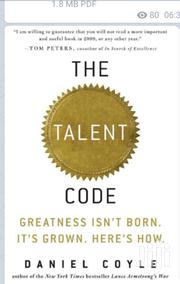 The Talent Code (Epub) | Books & Games for sale in Nairobi, Nairobi Central