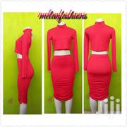 Two Piece Red Outsit | Clothing for sale in Nairobi, Kangemi