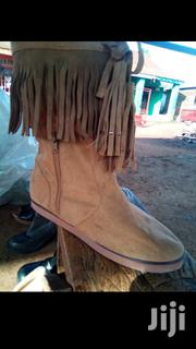Brown Flat Knee Length Boots! | Shoes for sale in Nairobi, Westlands