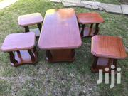 Coffee Table + 4 Stools | Furniture for sale in Nairobi, Harambee