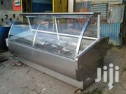 Meat Display Chiller Kenya Curved Glass | Store Equipment for sale in Mombasa, Kadzandani