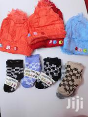12prs Woven Baby Hats And 12 Prs Baby Socks | Children's Clothing for sale in Nairobi, Nairobi Central