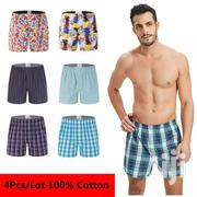 6pack Long Lasting Checked Cotton Men's Boxers | Clothing for sale in Nairobi, Kasarani