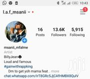 13.6K Instagram Account | Computer & IT Services for sale in Kajiado, Ongata Rongai