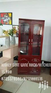 Highly Sort Wine Rack/Kitchen Cabinet | Furniture for sale in Nairobi, Nairobi South