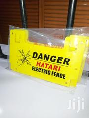 Danger & Warning Signs For Electric Fence | Building Materials for sale in Nairobi, Nairobi Central