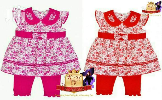 Baby Girls Floral 2 Piece Outfit Made in UK