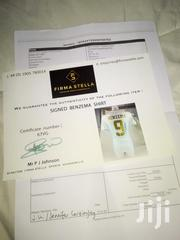 Signed & Signed Real Madrid Jersy-karim Benzema #9. | Sports Equipment for sale in Meru, Municipality