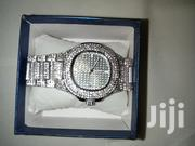New Iced Silver Watch + Free Gift Box | Watches for sale in Nairobi, Komarock