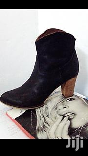 Black Leather Cowgirl Ankle Boots! | Shoes for sale in Nairobi, Uthiru/Ruthimitu