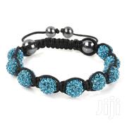Shamballa Tiffany Blue Crystal Men/Women Bracelet | Jewelry for sale in Nairobi, Kilimani