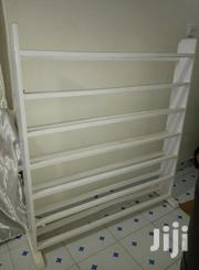 Wooden Quality White Shoe Rack | Furniture for sale in Nairobi, Zimmerman
