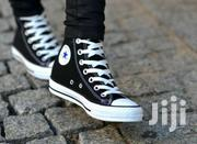 Black White High Top Converse | Shoes for sale in Nairobi, Nairobi Central