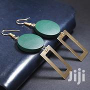 Green And Gold Geometric Earrings | Jewelry for sale in Nairobi, Nairobi Central