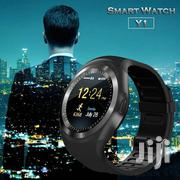 2020 Bluetooth Sim Card Y1 Smart Watch Phone Band Fitness Sport | Smart Watches & Trackers for sale in Nairobi, Landimawe
