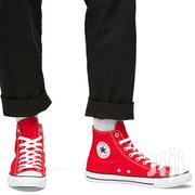 Converse Chuck Taylor All Star High Top Red | Shoes for sale in Nairobi, Nairobi Central