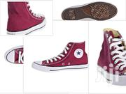 Converse Chuck Taylor All Star High Top Maroon | Shoes for sale in Nairobi, Nairobi Central