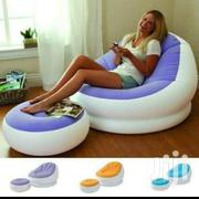 Inflatable Seat With A Footrest   Furniture for sale in Nairobi, Nairobi Central